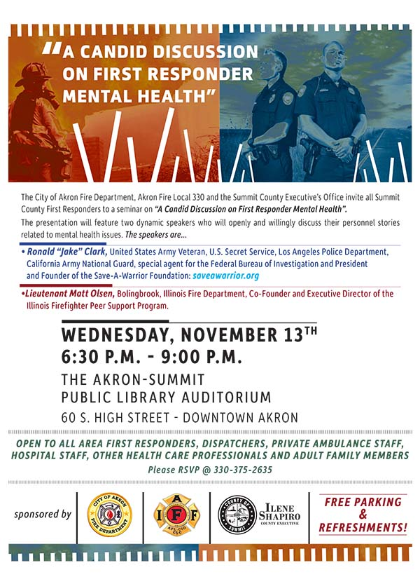 A Candid discussion on mental health flyer